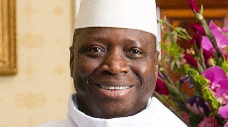 Gambia's Yahya Jammeh. Photo by Amanda Lucidon / White House, Wikipedia Commons.