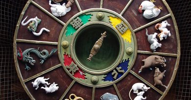 Chinese Zodiac. Photo by Jakub Hałun, Wikipedia Commons.