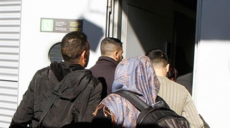 Spain receives refugees. Photo Credit: Ministerio del Interior.