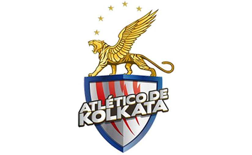 This is a logo for India's Atlético de Kolkata.