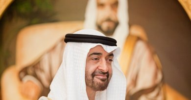 Abu Dhabi's Sheikh Mohamed bin Zayed Al Nahyan. Photo Credit: Abu Dhabi Crown Prince Court, Wikipedia Commons.