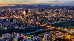 Ulaanbaatar City, Mongolia. Photo by Askar9992, Wikipedia Commons.