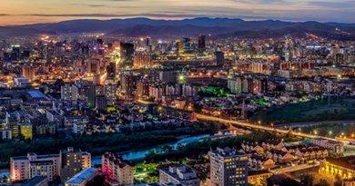 Ulaanbaatar City, Mongolia. Photo by Askar9992, Wikipedia Commons.