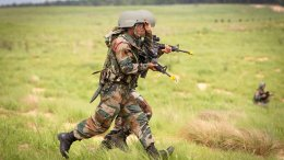 Indian Army soldiers. Photo Credit: US DoD, SGT Mike MacLeod, Wikipedia Commons.