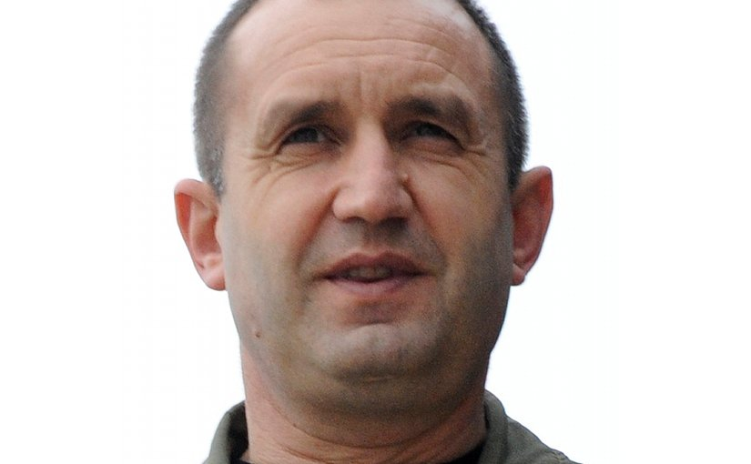 Bulgaria's Rumen Radev. U.S. Air Force photo / Airman 1st Class Nathan L. Maysonet, Wikipedia Commons.