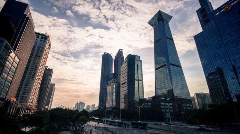 Shenzhen, China. Photo by Jo Sau, Wikipedia Commons.