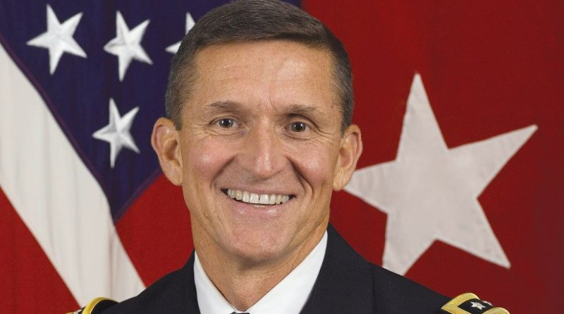 Michael Flynn. Photo Credit: US Defense Intelligence Agency, Wikipedia Commons.