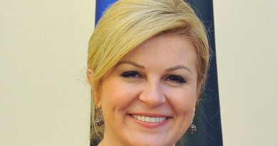 Croatia's Kolinda Grabar Kitarovic. Photo Estonian Foreign Ministry, Wikipedia Commons.