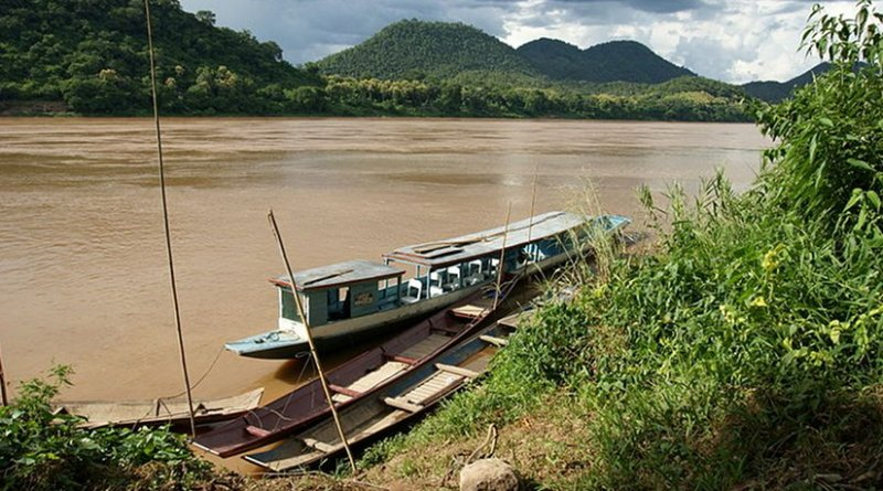 The Mekong in Laos. Photo by Allie Caulfield, Wikipedia Commons.