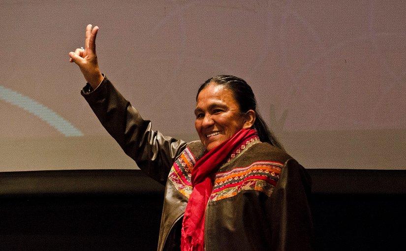 Milagro Sala. Photo Credit: Romina Santarelli/ Ministerio de Cultura de la Nación, Wikimedia Commons.