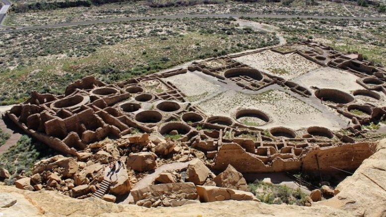 Ancient inhabitants of Chaco Canyon likely had to import corn to feed the masses a thousand years ago says a new CU-Boulder study. Credit NPS