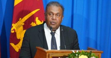 Sri Lanka's Mangala Samaraweera. Photo credit: Sri Lanka government.