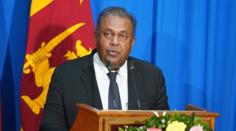 Sri Lanka's Mangala Samaraweera. Photo credit: Sri Lanka government.