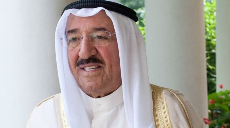 Al-Ahmad Al-Jaber Al-Sabah, the Amir of Kuwait. Official White House Photo by Pete Souza.
