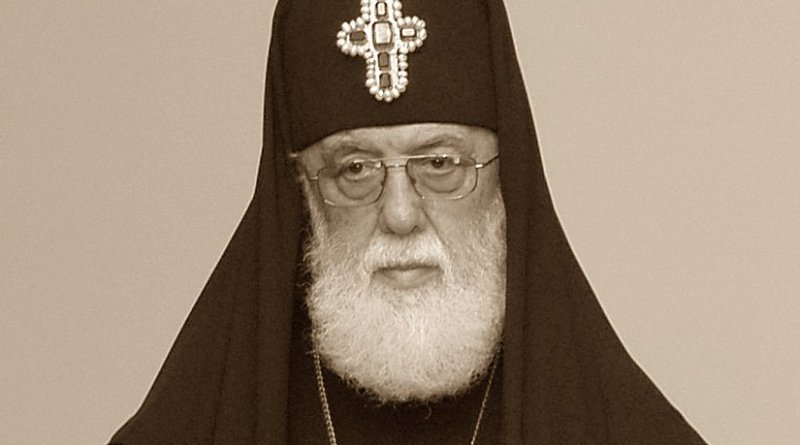 Illia II, Patriarch of Georgia's Orthodox Church. Photo by Surprizi, Wikipedia Commons