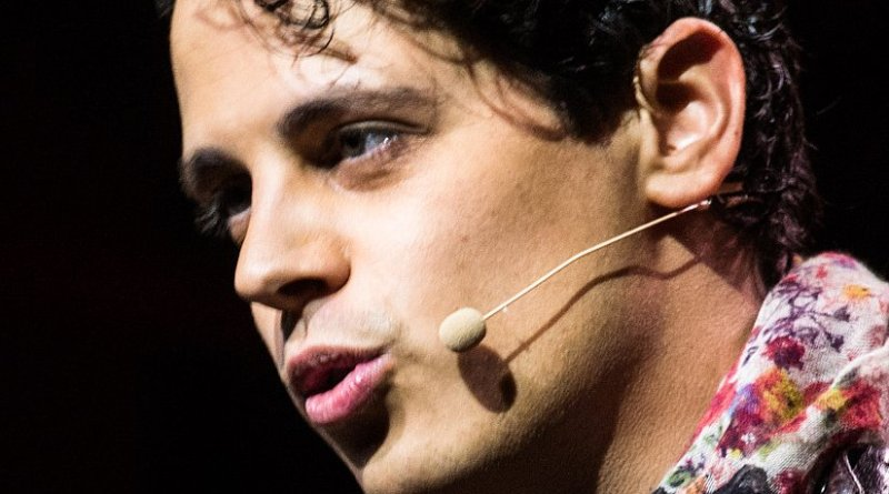 Milo Yiannopoulos. Photo by Official Leweb Photos, Wikipedia Commons.