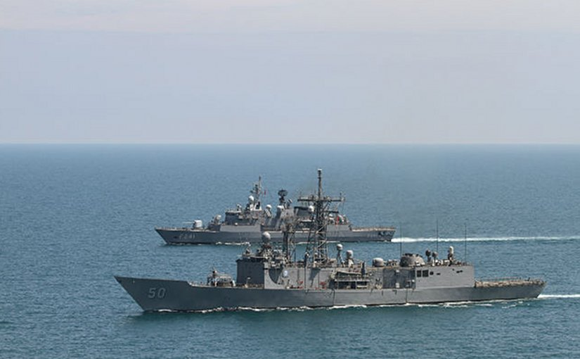 US navy ships during a NATO exercise in the Black Sea. Photo: US Navy/Wikimedia Commons.
