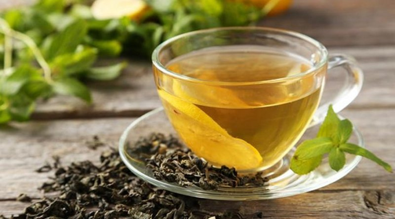 An engineering team at Washington University in St. Louis says a compound found in green tea may be of particular benefit to patients struggling with multiple myeloma and amyloidosis. Credit Washington University in St. Louis