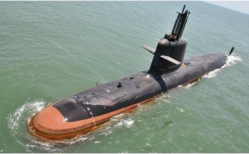 India's INS Kalvari submarine. Photo credit: Indian Navy