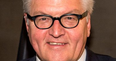 Germany's Frank-Walter Steinmeier. Photo by Marc Müller, Wikipedia Commons.