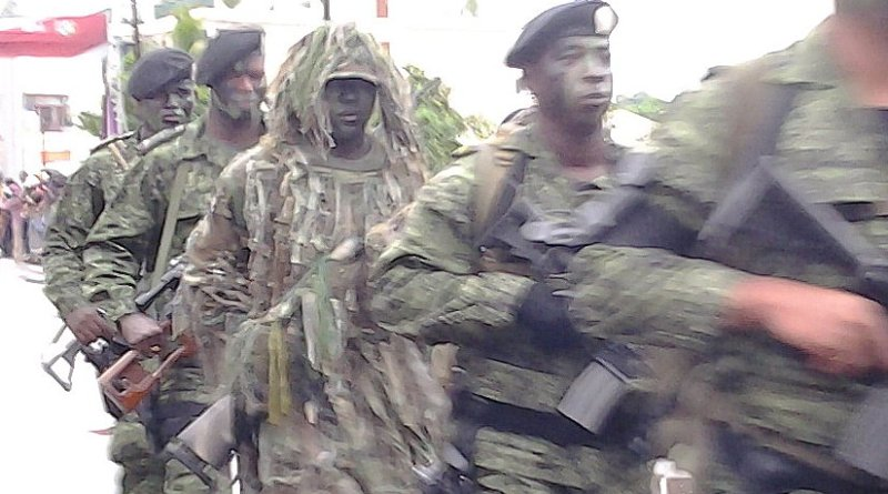 Suriname Special Forces. Photo by Sanoesie101, Wikipedia Commons.