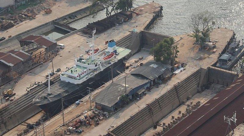 The Bangkok Dock Company, Bangkok, Thailand. Photo by Alexander Blecher, Wikipedia Commons.