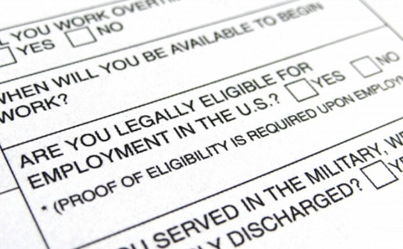 ban the box employment job