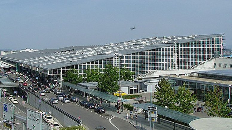 Airport in Stuttgart, Germany. Photo by Benny Bartels, Wikipedia Commons.