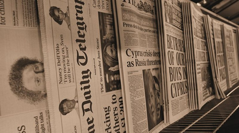 Newspapers in the United Kingdom. Photo Credit: Mick Baker (https://www.flickr.com/photos/36593372@N04/8573457815)
