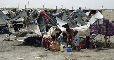 Somali Refugees in Yemen 1992 courtesy UNHCR