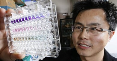 Andy Tao, a professor at Purdue University's College of Agriculture, discovers a protein that could make cancer detection possible through a blood test Credit Credit: Purdue Agricultural Communications/Tom Campbell