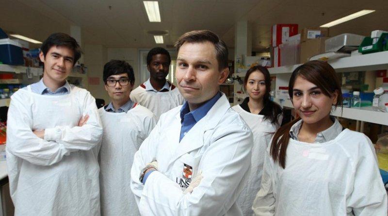 his is professor David Sinclair and his UNSW team. Credit Britta Campion