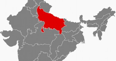 Location of Uttar Pradesh in India. Source: Wikipedia Commons.