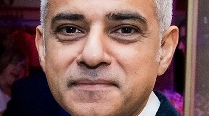 United Kingdom's Sadiq Khan. Photo Credit: US Embassy London, Wikipedia Commons.