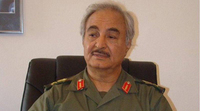 Libya's General Khalefa Haftar. Photo Credit: Magharebia, Wikipedia Commons.