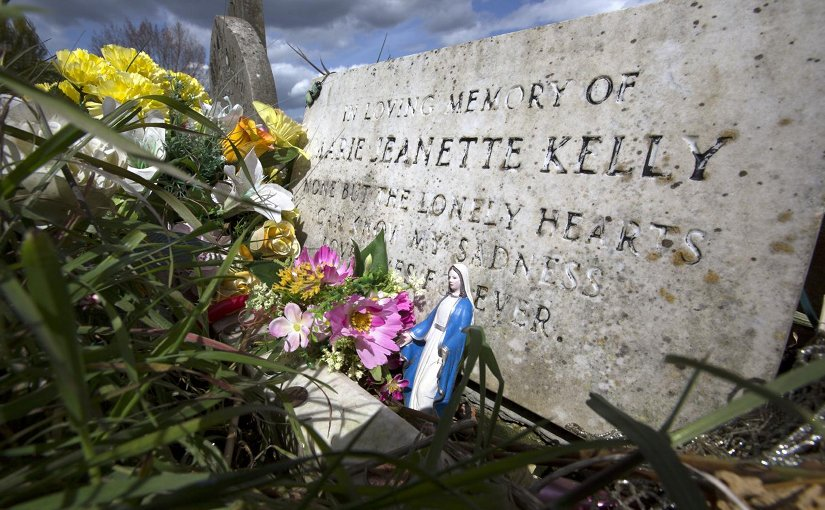 This is Mary Jane Kelly's grave. Credit Carl Vivian University of Leicester