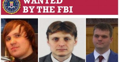 FBI Wanted Poster for Russia hackers. Photo Credit: FBI