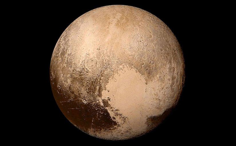 Pluto. Photo Credit: NASA / Johns Hopkins University Applied Physics Laboratory / Southwest Research Institute, Wikipedia Commons.