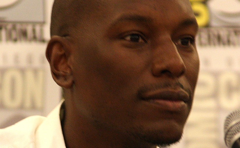 Tyrese Gibson. Photo by Gage Skidmore, Wikipedia Commons.