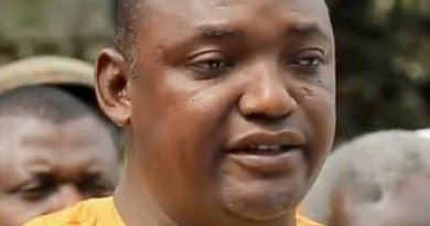Gambia's Adama Barrow. Photo by Sulaiman Leigh, Wikipedia Commons.
