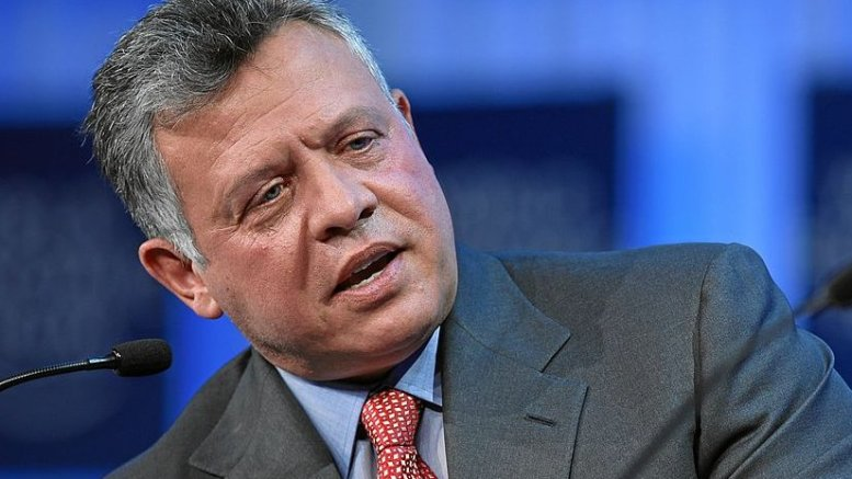 Jordan's King Abdullah II. Photo Credit: World Economic Forum, Wikipedia Commons.