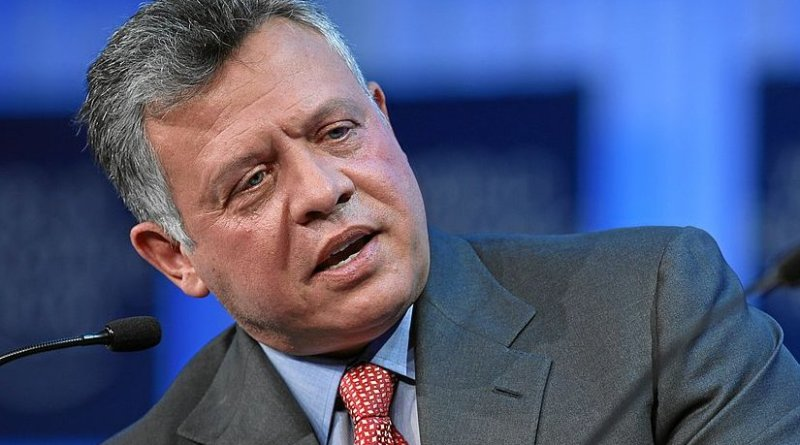 Jordan's King Abdullah II. Photo Credit: World Economic Forum, Wikipedia Commons.