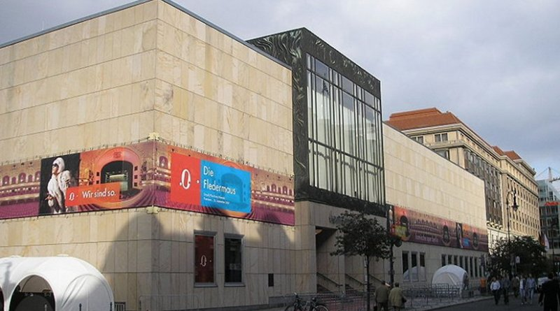 The Komische Oper in Berlin. Photo by Gryffindor, Wikipedia Commons.