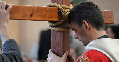 A Catholic priest.