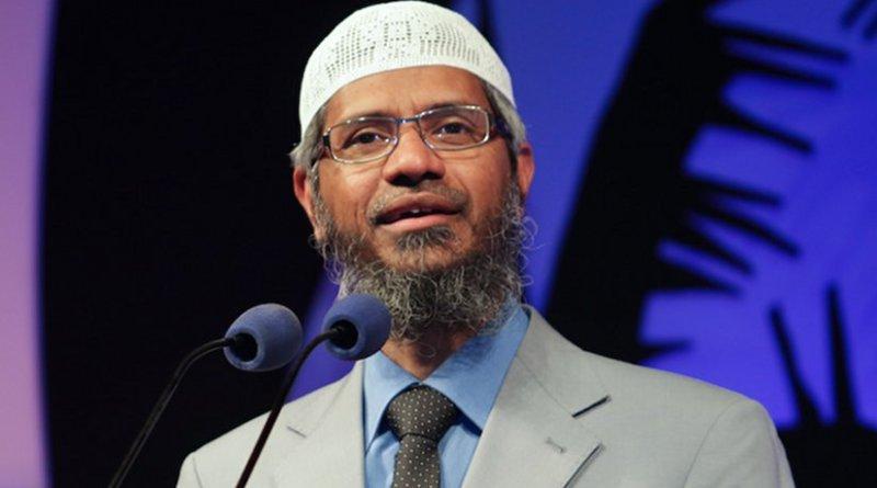 Zakir Naik. Photo by Maapu, Wikipedia Commons.