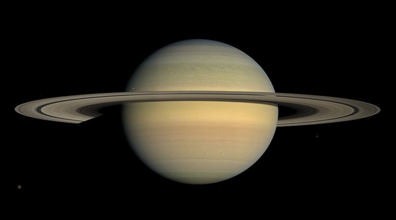 This captivating natural color view of the planet Saturn was created from images collected shortly after Cassini began its extended Equinox Mission in July 2008. Photo Credit: NASA / JPL / Space Science Institute