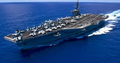 USS Carl Vinson. U.S. Navy Photo by Mass Communication Specialist 3rd Class Eric Coffer