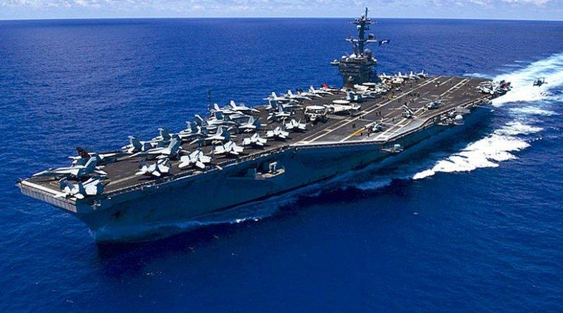 USS Carl Vinson. U.S. Navy Photo by Mass Communication Specialist 3rd Class Eric Coffer