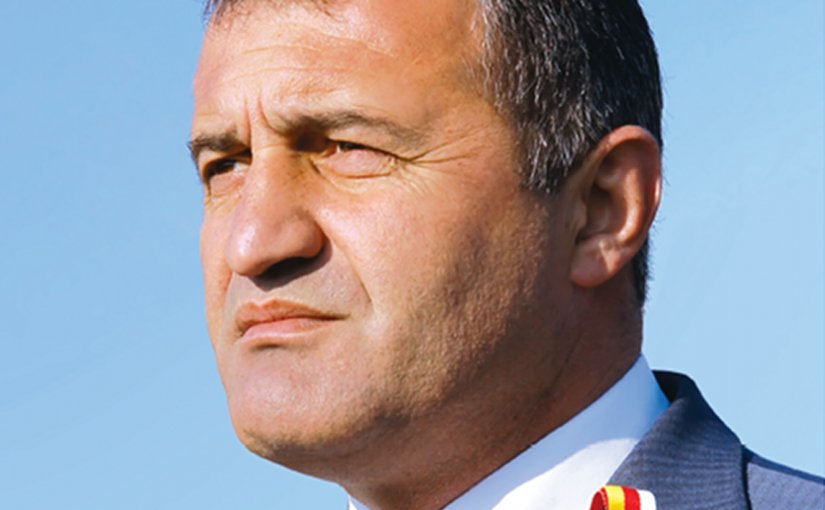 South Ossetia's Anatoly Bibilov. Photo by Zrx44, Wikipedia Commons.