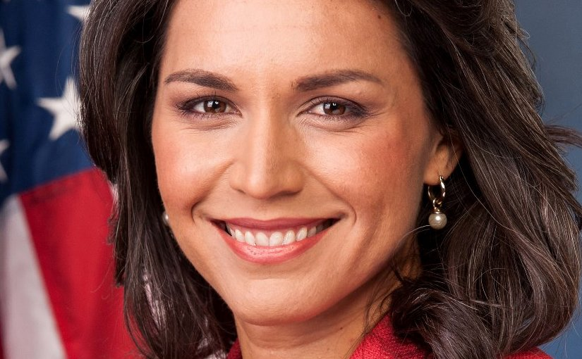 Tulsi Gabbard. Official United States Congress portrait.